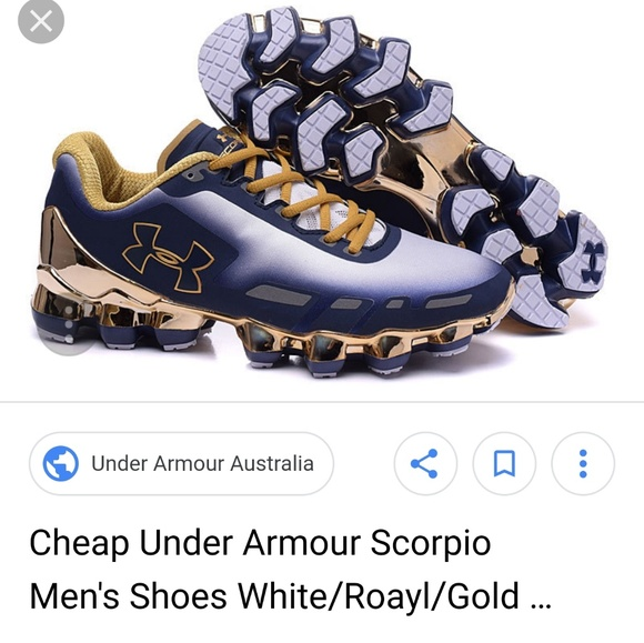 reputable site ce6cf f7811 Under Armour Scorpio Mens. M 5b7303df8ad2f9f57a5790a5